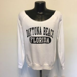 Daytona beach lightweight sweatshirt sz L